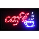 Cafe LED kyltti